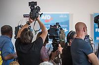 """Pressekonferenz der rechtsnationalistischen Partei Alternative fuer Deutschland (AfD) zum Thema """"Islamische Zuwanderung und Kriminalitaet"""" am Montag den 18. September 2017 in Berlin.<br /> Im Bild: <br /> 18.9.2017, Berlin<br /> Copyright: Christian-Ditsch.de<br /> [Inhaltsveraendernde Manipulation des Fotos nur nach ausdruecklicher Genehmigung des Fotografen. Vereinbarungen ueber Abtretung von Persoenlichkeitsrechten/Model Release der abgebildeten Person/Personen liegen nicht vor. NO MODEL RELEASE! Nur fuer Redaktionelle Zwecke. Don't publish without copyright Christian-Ditsch.de, Veroeffentlichung nur mit Fotografennennung, sowie gegen Honorar, MwSt. und Beleg. Konto: I N G - D i B a, IBAN DE58500105175400192269, BIC INGDDEFFXXX, Kontakt: post@christian-ditsch.de<br /> Bei der Bearbeitung der Dateiinformationen darf die Urheberkennzeichnung in den EXIF- und  IPTC-Daten nicht entfernt werden, diese sind in digitalen Medien nach §95c UrhG rechtlich geschuetzt. Der Urhebervermerk wird gemaess §13 UrhG verlangt.]"""