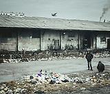 Flüchtlinge in Belgrad