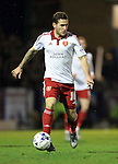 Sheffield United's Billy Sharp in action during the League One match at Roots Hall Stadium.  Photo credit should read: David Klein/Sportimage