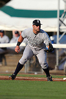 Staten Island Yankees first baseman Kyle Roller during a game vs. the Jamestown Jammers at Russell Diethrick Park in Jamestown Jammers, New York July 15, 2010.   Jamestown defeated Staten Island 5-1.  Photo By Mike Janes/Four Seam Images