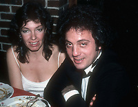 Billy Joel and wife Elizabeth Weber 1981<br />Photo By Adam Scull/PHOTOlink.net /MediaPunch