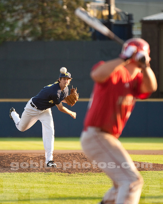 The University of Michigan baseball team beat Nebraska, 6-5 at the Wilpon Baseball Complex in Ann Arbor, Mich, on  May 18, 2012..