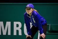 Februari 10, 2015, Netherlands, Rotterdam, Ahoy, ABN AMRO World Tennis Tournament, Lineswoman<br /> Photo: Tennisimages/Henk Koster