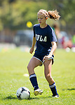 MVLA Monsoon Blue U15 girls practice at Hillview field in Los Altos, July 19, 2014