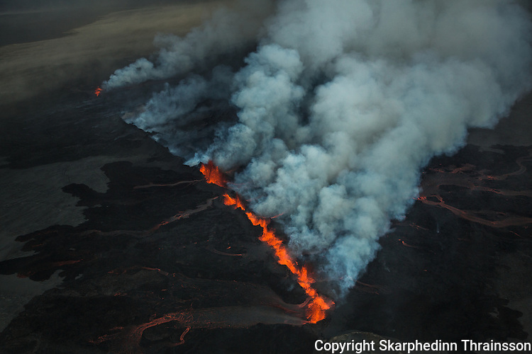Holuhraun volcano, Iceland 2014