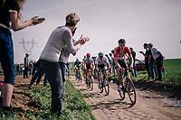 Marcel Sieberg (DEU/Lotto-Soudal)<br /> <br /> 116th Paris-Roubaix (1.UWT)<br /> 1 Day Race. Compi&egrave;gne - Roubaix (257km)