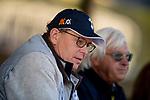 OCT 29: Elliott Walden and Bob Baffert at Santa Anita Park in Arcadia, California on Oct 29, 2019. Evers/Eclipse Sportswire/Breeders' Cup