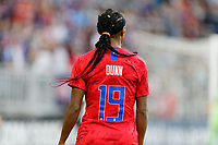 Saint Paul, MN - Tuesday September 03, 2019 : Crystal Dunn #19 during a 2019 Victory Tour match between Portugal and the United States at Allianz Field, on September 03, 2019 in Saint Paul, Minnesota.