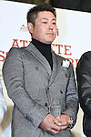 Hideto Tanihara, JANUARY 22, 2015 : Athlete Dresser Award 2015 at Hankyu MEN'S TOKYO in Tokyo, Japan. (Photo by Sho Tamura/AFLO SPORT) [1180]