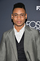 "NEW YORK - APRIL 8: Ryan Jamaal Swain attends the premiere event for FX's ""Fosse Verdon"" presented by FX Networks, Fox 21 Television Studios, and FX Productions at the Gerald Schoenfeld Theatre on April 8, 2019 in New York City. (Photo by Anthony Behar/FX/PictureGroup)"