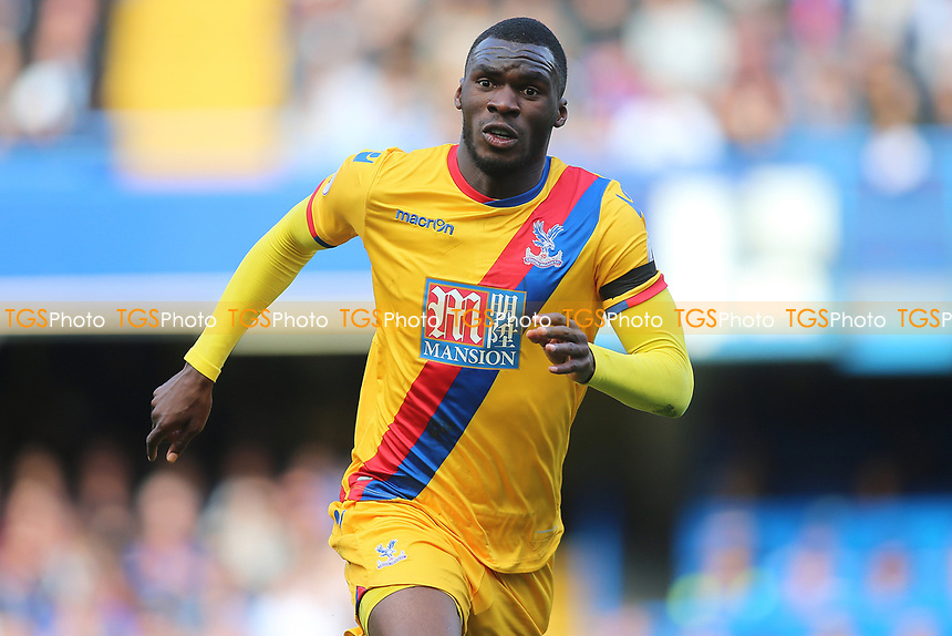 Christian Benteke of Crystal Palace during Chelsea vs Crystal Palace, Premier League Football at Stamford Bridge on 1st April 2017