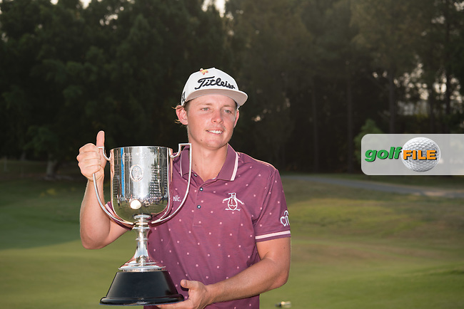 Cameron Smith (AUS) after the final round of the Australian PGA Championship, Royal Pines Resort Golf Course, Benowa, Queensland, Australia. 02/12/2018<br /> Picture: Golffile | Anthony Powter<br /> <br /> <br /> All photo usage must carry mandatory copyright credit (© Golffile | Anthony Powter)