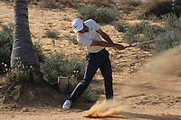 Jack Singh Brar (ENG) during round 2, Ras Al Khaimah Challenge Tour Grand Final played at Al Hamra Golf Club, Ras Al Khaimah, UAE. 01/11/2018<br /> Picture: Golffile | Phil Inglis<br /> <br /> All photo usage must carry mandatory copyright credit (&copy; Golffile | Phil Inglis)