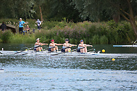 Race: 99: W Tier1 4x  Heat 1<br /> <br /> Peterborough Summer Regatta 2017 - Sunday<br /> <br /> To purchase this photo, or to see pricing information for Prints and Downloads, click the blue 'Add to Cart' button at the top-right of the page.