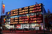 Nederland Eindhoven  2015.  Gevel van de Mediamarkt. Foto Berlinda van Dam / Hollandse Hoogte