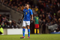Gabriel Jesus of Brazil and Manchester City during Brazil vs Cameroon, International Friendly Match Football at stadium:mk on 20th November 2018