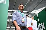 Geschaeftsfuehrer Horst Heldt (Koeln) vor dem Spiel.<br /><br />Sport: Fussball: 1. Bundesliga:: nphgm001:  Saison 19/20: 34. Spieltag: SV Werder Bremen - 1. FC Koeln, 27.06.2020<br /><br />Foto: Marvin Ibo GŸngšr/GES/Pool/via gumzmedia/nordphoto