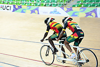 Picture by Simon Wilkinson/SWpix.com 23/03/2018 - Cycling 2018 UCI  Para-Cycling Track Cycling World Championships. Rio de Janeiro, Brazil - Barra Olympic Park Velodrome - Day 2 - Ghana FREDERICK ASSOR