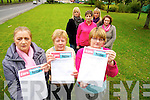 Margaret Cunningham, Marian O'Donoghue, Joan O'Day, Lorraine Fleming, Marie O'Carroll, Joan Hickey and Mary Kelly, some of the home helps in the Killarney area, who will  be filling petitions in order to have their contracted hours honoured. ..................................