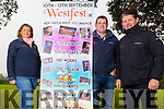 Getting ready to move Westfest to The Demense in Newcastlewest was Siobhan Kelly, Declan O'Grday and Brian Cunningham, pictured last Monday morning at the new location for Westfest 2015