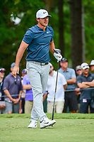 Brooks Koepka (USA) watches his tee shot on 5 during Friday's round 2 of the PGA Championship at the Quail Hollow Club in Charlotte, North Carolina. 8/11/2017.<br /> Picture: Golffile | Ken Murray<br /> <br /> <br /> All photo usage must carry mandatory copyright credit (&copy; Golffile | Ken Murray)