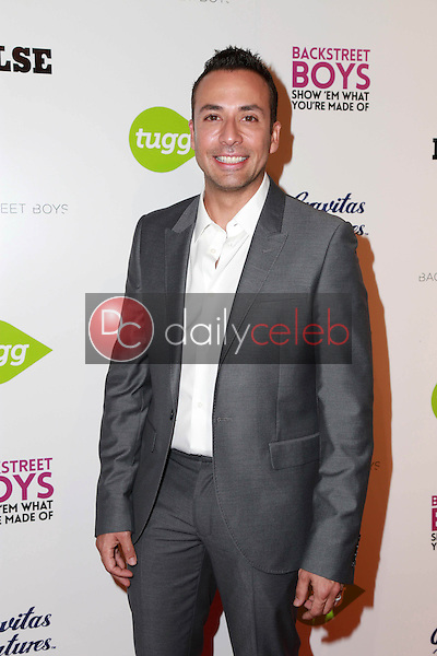 """Howie Dorough<br /> at the Backstreet Boys """"Show 'Em What You're Made Of"""" Premiere, Arclight, Hollywood, CA 01-29-15<br /> David Edwards/DailyCeleb.com 818-249-4998"""