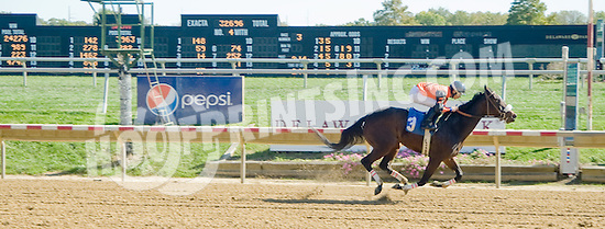 Maid of Dishonor winning at Delaware Park on 10/13/12
