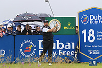 Shane Lowry (IRL) tees off the 18th tee during Saturday's Round 3 of the Dubai Duty Free Irish Open 2019, held at Lahinch Golf Club, Lahinch, Ireland. 6th July 2019.<br /> Picture: Eoin Clarke | Golffile<br /> <br /> <br /> All photos usage must carry mandatory copyright credit (© Golffile | Eoin Clarke)