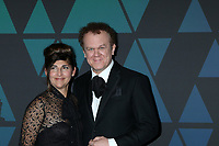 LOS ANGELES - NOV 18:  Alison Dickey, John C Reilly at the 10th Annual Governors Awards at the Ray Dolby Ballroom on November 18, 2018 in Los Angeles, CA
