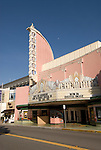 California, San Luis Obispo County: Art Deco Fremont Theater in downtown San Luis Obispo..Photo caluis141-71142..Photo copyright Lee Foster, www.fostertravel.com, 510-549-2202, lee@fostertravel.com