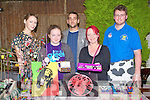 BOOTSALE: The First bar Boot Sale was held in The Greyhound Beer Garden on Saturday selling some of theire good L-r: Brid Spillane, Abigail Mahoney, Denis O'Sullivan,Mags Mahoney and Kieran Moore.............