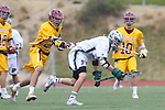 San Diego, CA 05/21/11 - Matt Landon (Poway #9) and Kyle O'Meara (Torrey Pines #26) in action during the 2011 CIF San Diego Section Boys Division 1 Championship game between Poway and Torrey Pines.