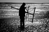 Shrimp netting on the Norfolk coast