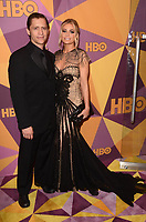 BEVERLY HILLS, CA - JANUARY 7: Clifton Collins Jr., Carmen Electra at the HBO Golden Globes After Party, Beverly Hilton, Beverly Hills, California on January 7, 2018. <br /> CAP/MPI/DE<br /> &copy;DE//MPI/Capital Pictures