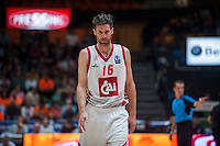 VALENCIA, SPAIN - OCTOBER 20: Drake Diener during EUROCUP match between Valencia Basket Club and CAI Zaragozaat Fonteta Stadium on   October 22, 2015 in Valencia, Spain