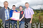Cahersiveen Races set to draw big crowds again this year, pictured here l-r; Liam Musgrave(Secretary), T.J.Daly, Jeffrey Quirke & Tommy Quirke(Chairman).  The races will take place on Sunday the 9th September, first race 1:45pm.