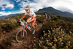 Burry Stander and Christof Sauser during stage four of the 2010 Absa Cape Epic Mountain Bike stage race from Ceres to Worcester in the Western Cape, South Africa on the 24 March 2010.Photo by Karin Schermbrucker/SPORTZPICS