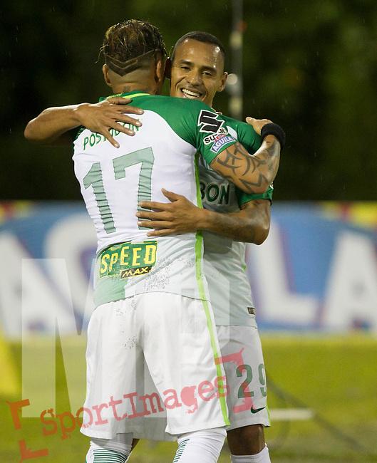 Atlético Nacional venció como visitante 1-0 a Rionegro Águilas. Fecha 3 Liga Águila II-2017.