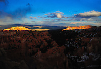 Light Divided - Sunset at Bryce Canyon National Park