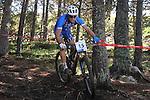 05.09.2015 La Massana Andorra. 201 UCI Mountain Bike World Champions.Picture show Andrea Tiberi (ITA) in action during Men ELite Cross-country Olympic World Champions