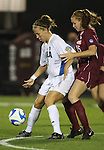 07 December 2007: UCLA's Lauren Cheney (8) and USC's Janessa Currier (15). The University of Southern California Trojans defeated the University of California Los Angeles Bruins 2-1 at the Aggie Soccer Stadium in College Station, Texas in a NCAA Division I Womens College Cup semifinal game.