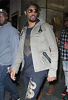 RZA Seen At The Tonight Show Starring Jimmy Fallon