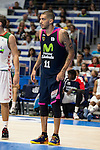 Movistar Estudiantes's Nacho Martin during Liga Endesa ACB at Barclays Center in Madrid, October 11, 2015.<br /> (ALTERPHOTOS/BorjaB.Hojas)
