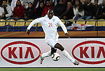 12 JUN 2010:  Emile Heskey (ENG).  The England National Team played the United States National Team played to a 1-1 tie at Royal Bafokeng Stadium in Rustenburg, South Africa in a 2010 FIFA World Cup Group C match.