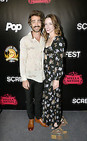 HOLLYWOOD,CA - OCTOBER 18: Devin Bonnee and Alex Essoe attend the TRASH FIRE / Screamfest red carpet at TCL Chinese Theater in Hollywood, California on October 18, 2016. Credit: Koi Sojer/Snap'N U Photos /MediaPunch