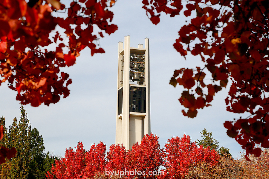 1210-67 127<br /> <br /> 1210-67 Bell Tower GCS<br /> General Campus Scenics<br /> <br /> November 5, 2012<br /> <br /> Photo by Mark A. Philbrick/BYU<br /> <br /> &copy; BYU PHOTO 2013<br /> All Rights Reserved<br /> photo@byu.edu  (801)422-7322