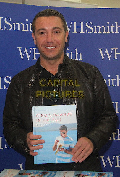 Celebrity chef Gino D'Acampo signs copies of his latest cookery book, &quot;Gino's Islands In The Sun&quot; on November 27th, 2015 in Kingston Upon Thames, England.<br /> CAP/DS<br /> &copy;DS/Capital Pictures