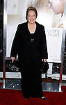"WESTWOOD, CA. - December 15: Actress Kathy Bates arrives at the Los Angeles premiere of ""Revolutionary Road"" held at the Mann Village Theater on December 15, 2008 in Westwood, California."