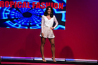 S&Atilde;O PAULO-SP-03.03.2015 - INVERNO 2015/MEGA FASHION WEEK -Yanna Lavigne/Grife tropical Fashion/<br /> O Shopping Mega Polo Moda inicia a 18&deg; edi&ccedil;&atilde;o do Mega Fashion Week, (02,03 e 04 de Mar&ccedil;o) com as principais tend&ecirc;ncias do outono/inverno 2015.Com 1400 looks das 300 marcas presentes no shopping de atacado.Br&aacute;z-Regi&atilde;o central da cidade de S&atilde;o Paulo na manh&atilde; dessa segunda-feira,02.(Foto:Kevin David/Brazil Photo Press)