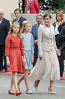 OCT 12 Spanish Royals Attend National Day Parade
